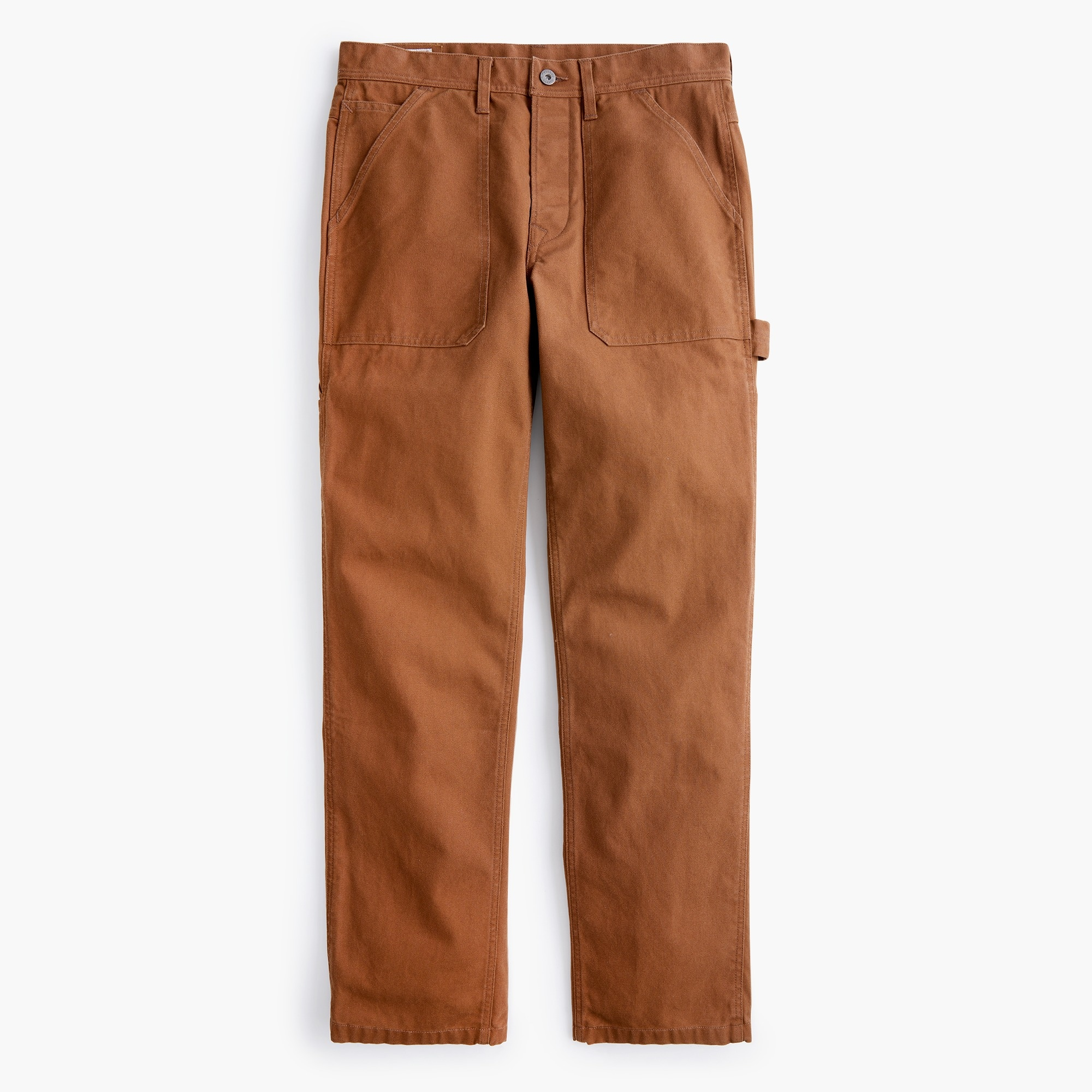 Wallace & Barnes painter camp pant in duck canvas