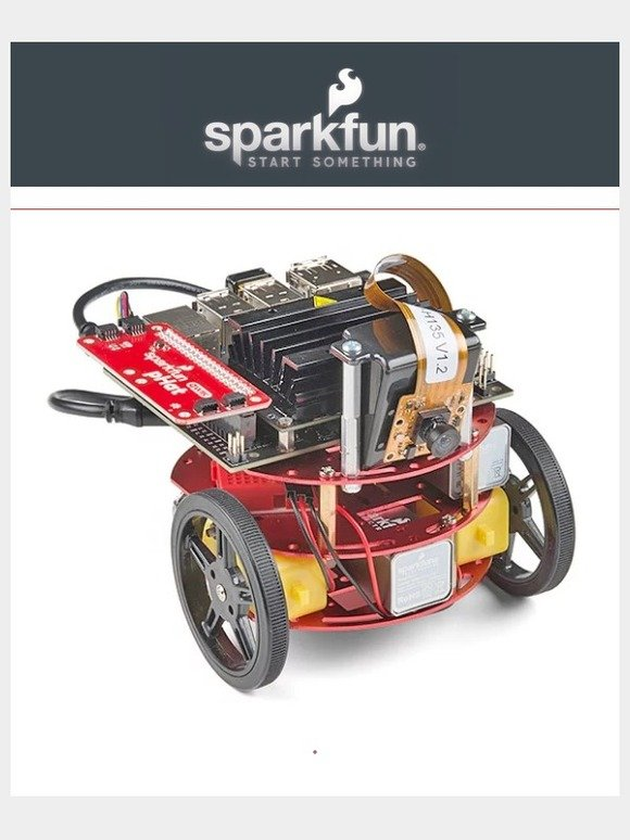 SparkFun: SparkFun's version of the JetBot is here! | Milled