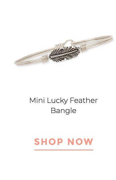 Mini Lucky Feather Bangle | SHOP NOW
