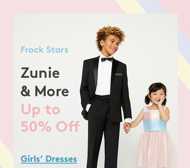 Frock Stars | Zunie & More | Up to 50% Off | Girls' Dresses