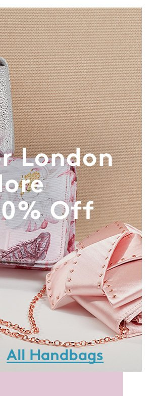 Ted Baker London & More | Up to 50% Off | All Handbags