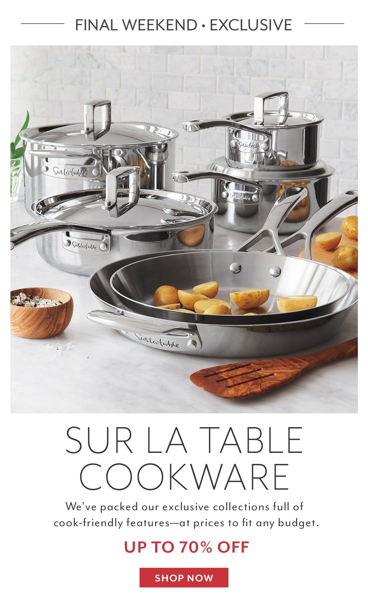 Warehouse Sale Cookware