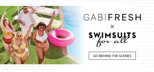 GabiFresh x Swimsuits for All - Shop the Essentials