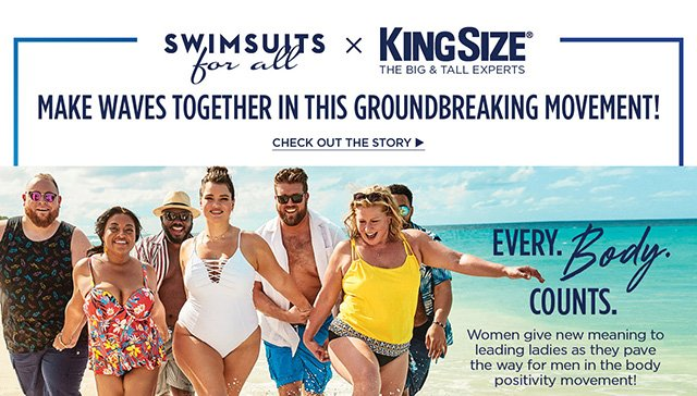 Swimsuits For All x KingSize
