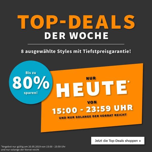 Top-Deals der Woche | 8 ausgewählte Styles mit Tiefstpreisgarantie