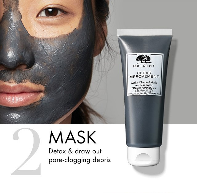 2 MASK Detox and draw out pore clogging debris