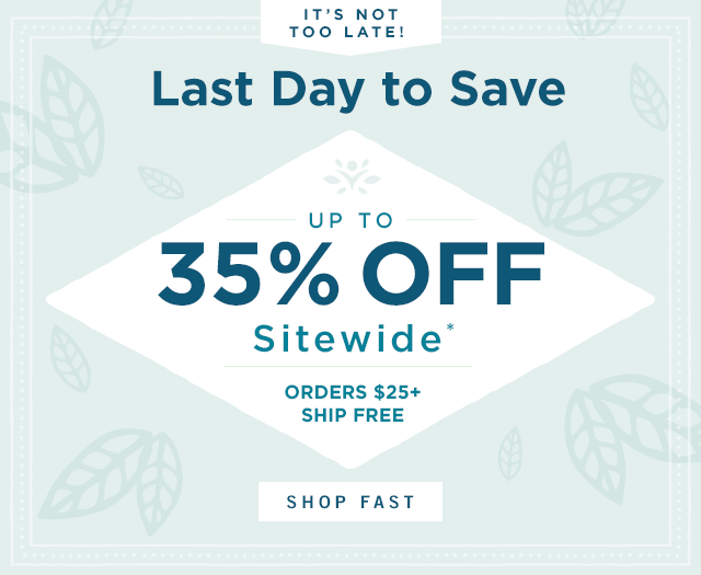 Up to 35% OFF SITEWIDE*