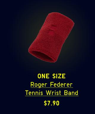 BODY 5 - ROGER FEDERER DRY TENNIS WRIST BAND