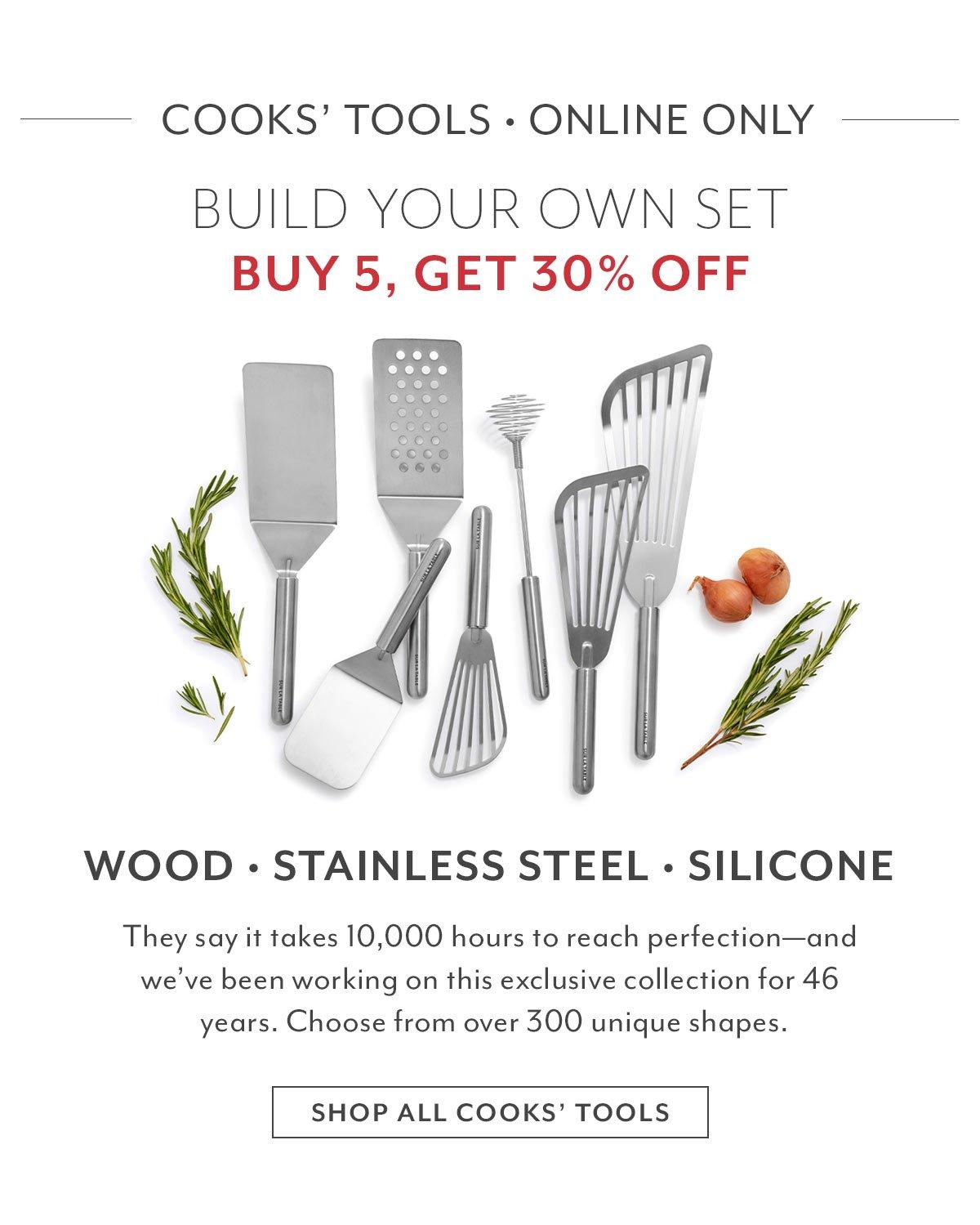 Sur La Table Cooks' Tools: Buy 5, Get 30% off