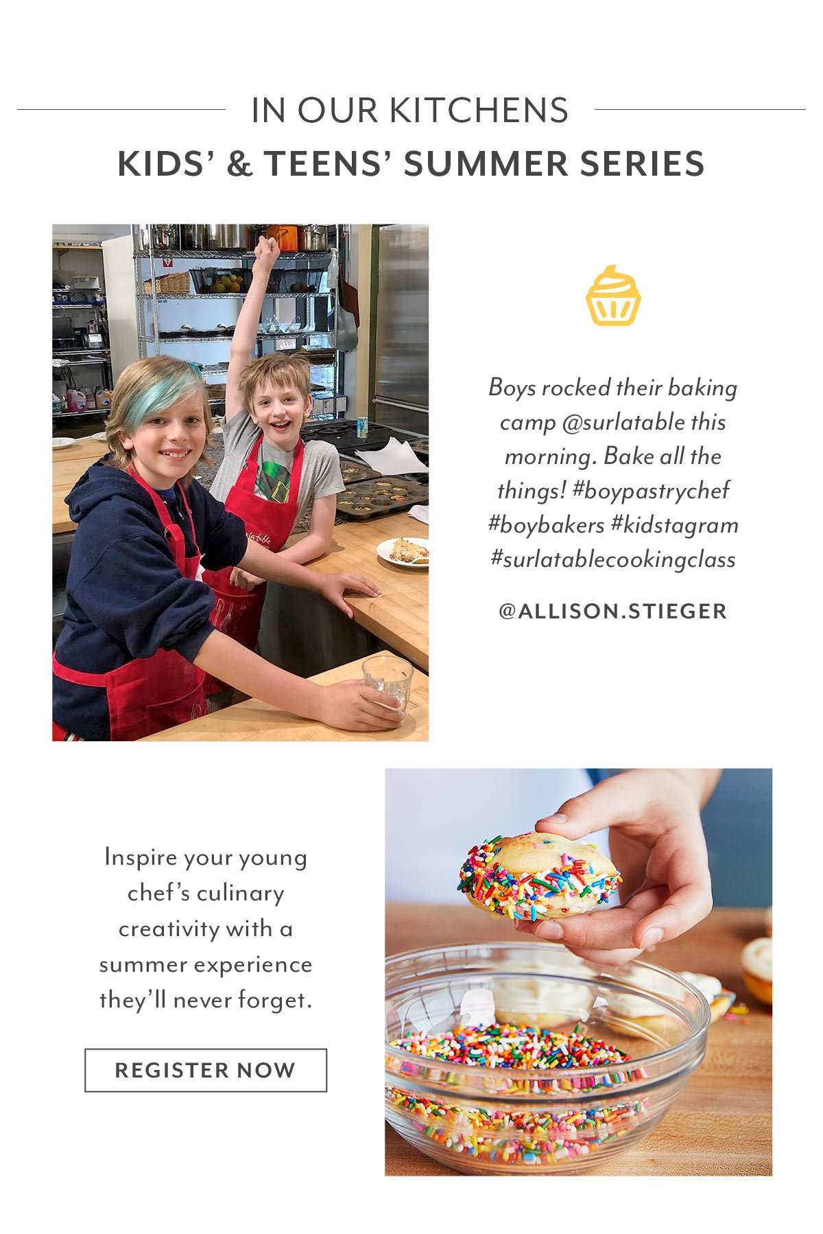 In Our Kitchens • Kids' & Teens Summer Series