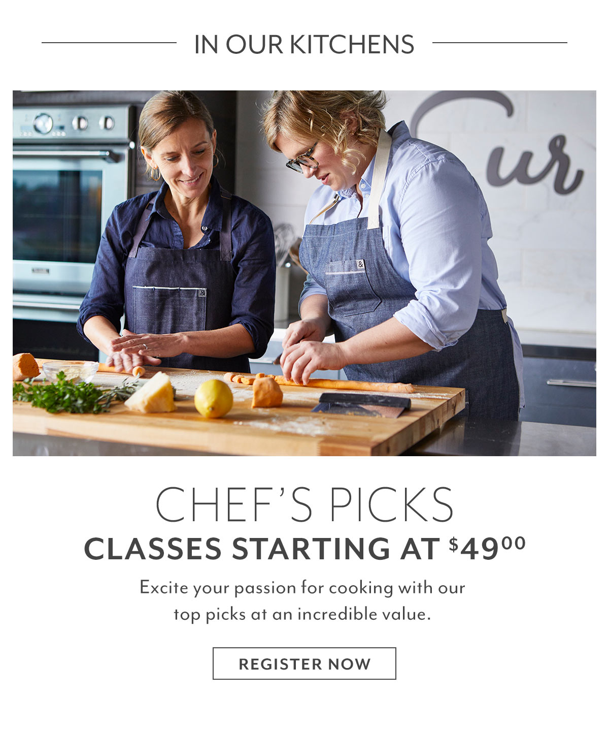 In Our Kitchens •Chef's Picks