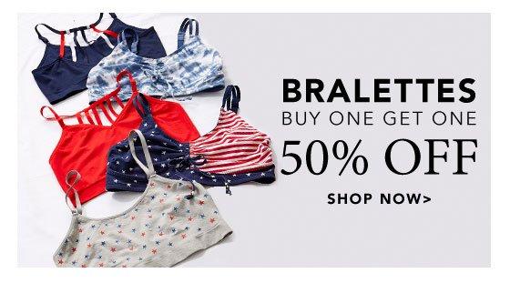 Shop Bralettes