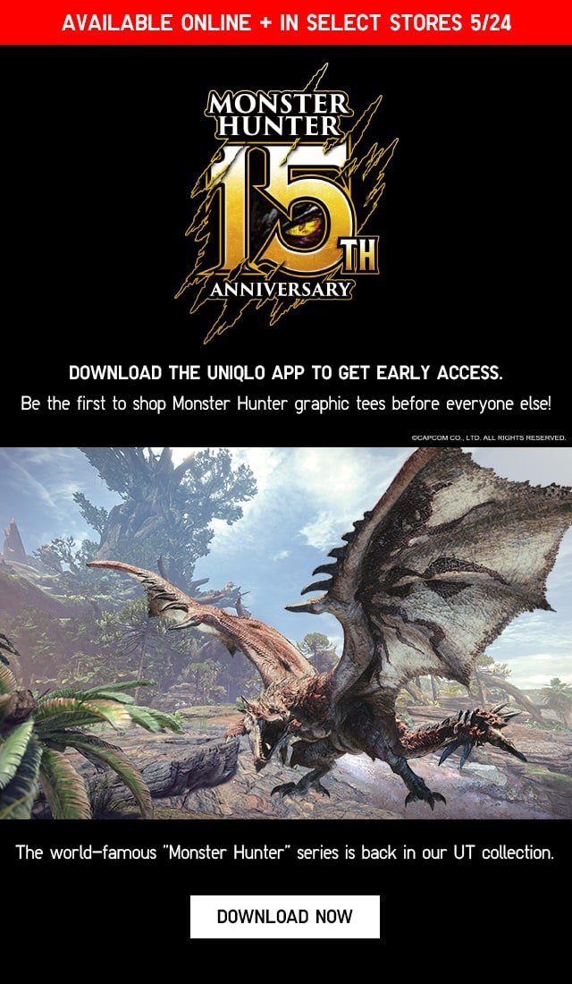 BANNER1 - MONSTER HUNTER EARLY ACCESS