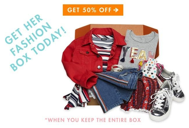 kidpik fashion box for girls