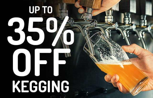 Up to 35% Off Draft Brewer Keg Systems. No promo code required.