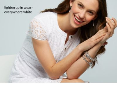 Lighten up in wear- everywhere white