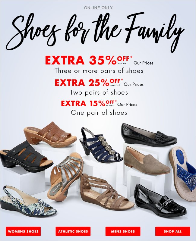 Only, Extra Discount Shoe Sale and Save