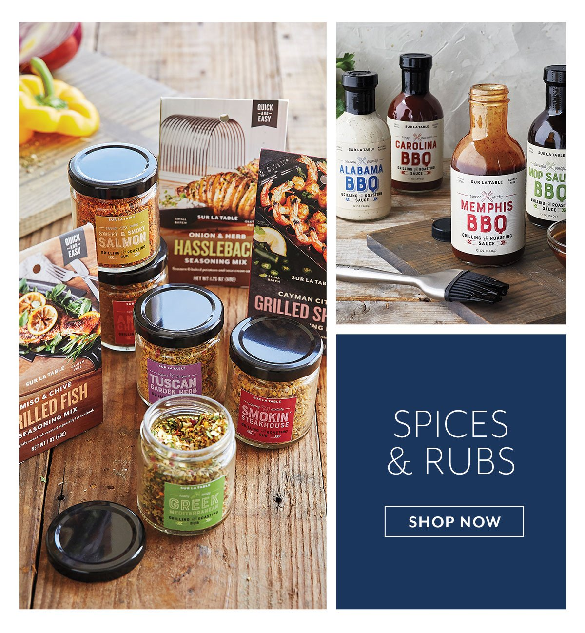 Spices & Rubs