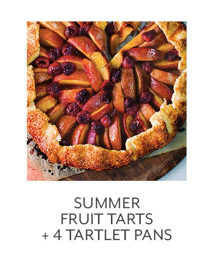 Class: Summer Fruit Tarts + 4 Tartlet Pans