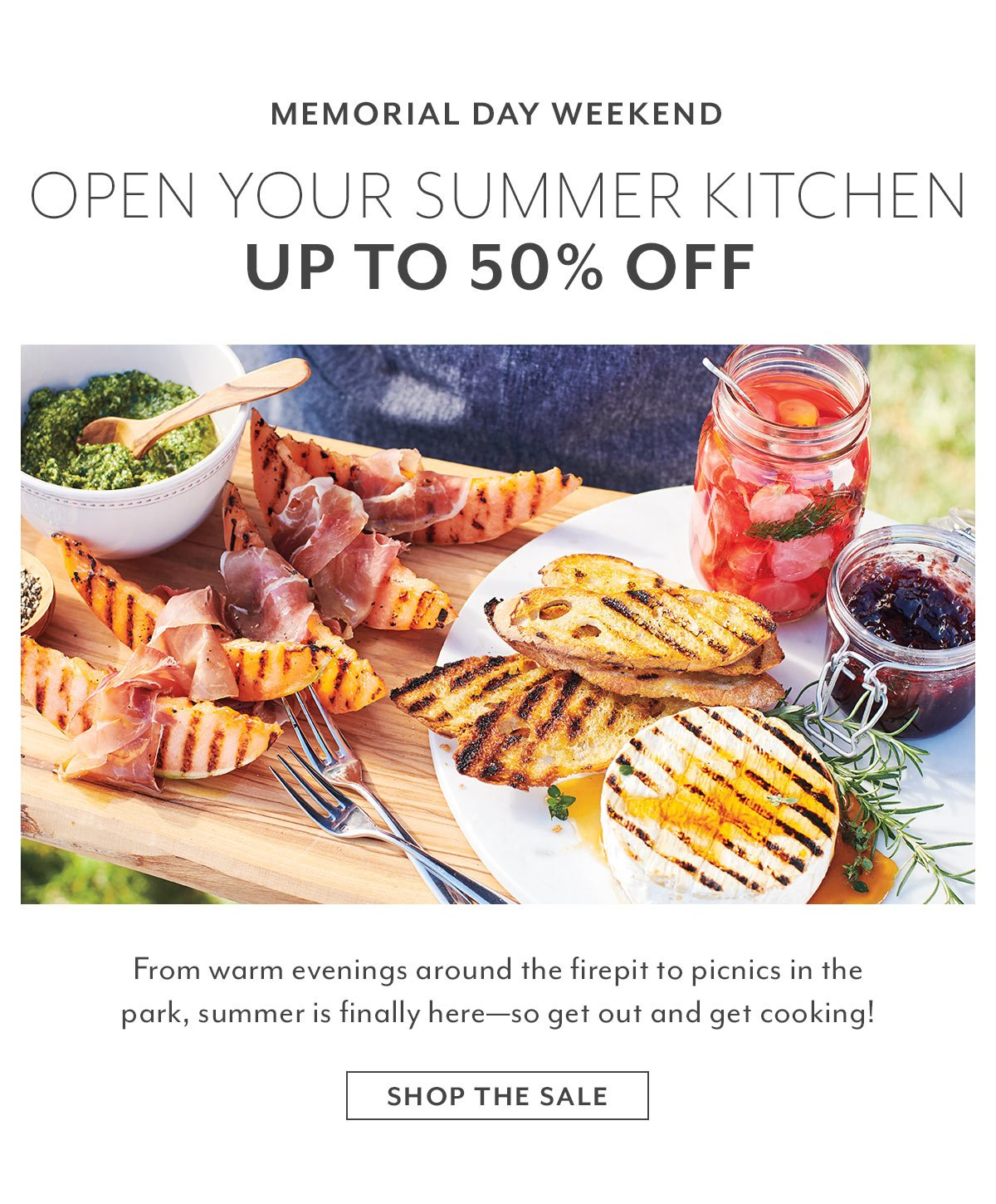 Memorial Day • Open Your Summer Kitchen