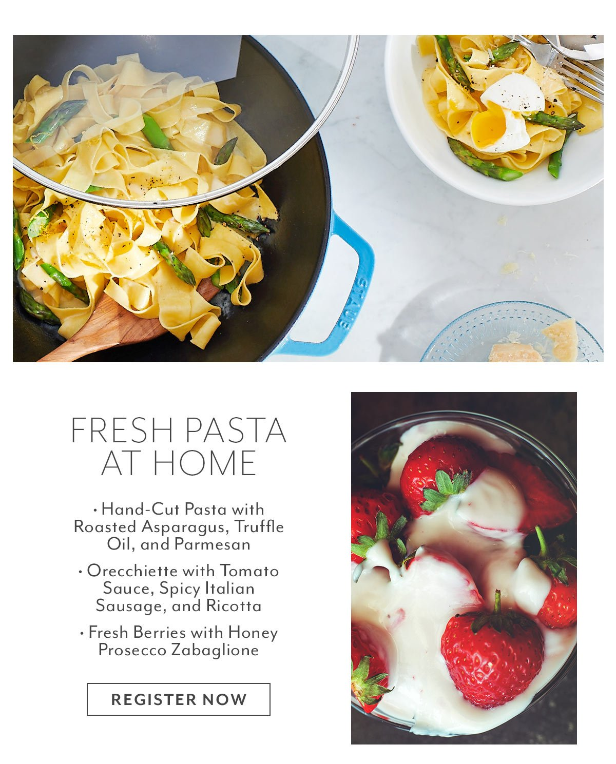 Class: Fresh Pasta at Home
