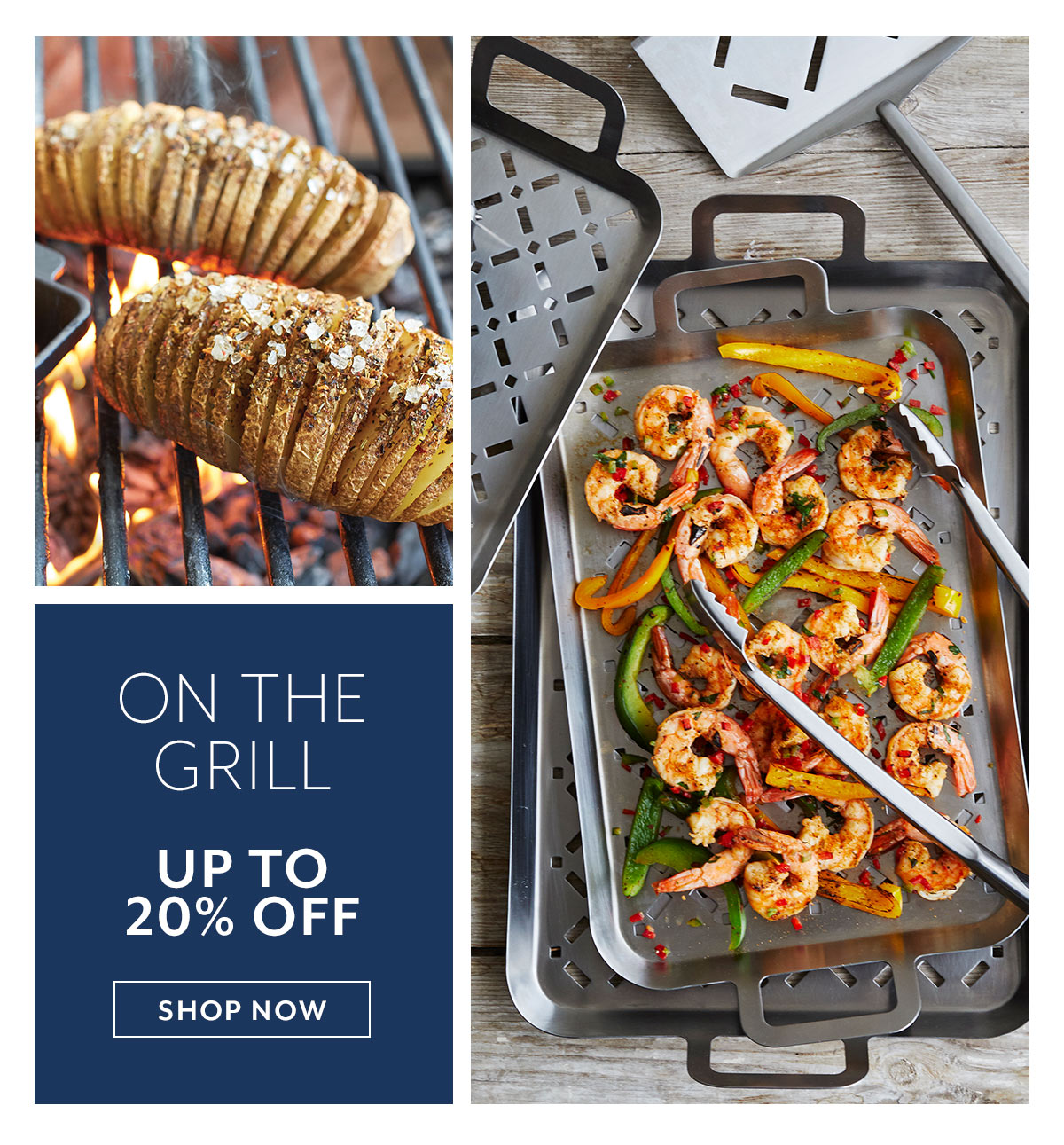 Grilling Sale up to 20% off