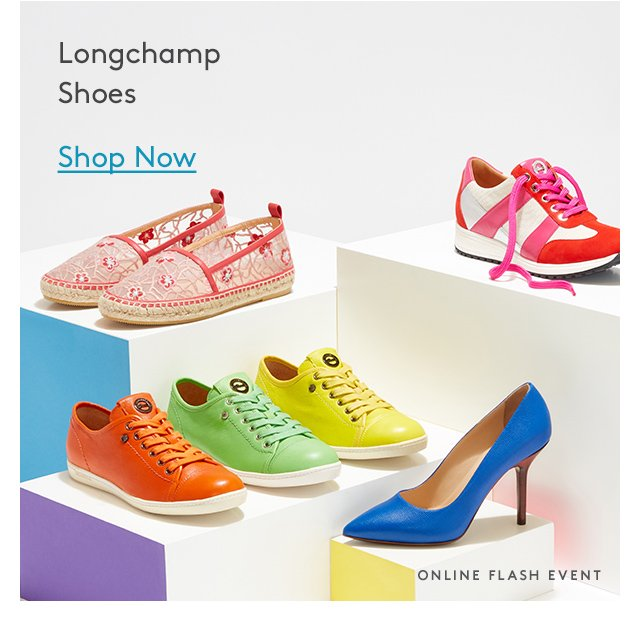 Longchamp Shoes | Shop Now | Online Flash Event