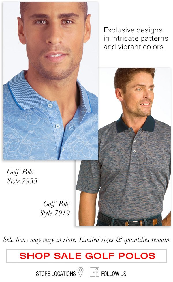 Golf Polos in Clearance