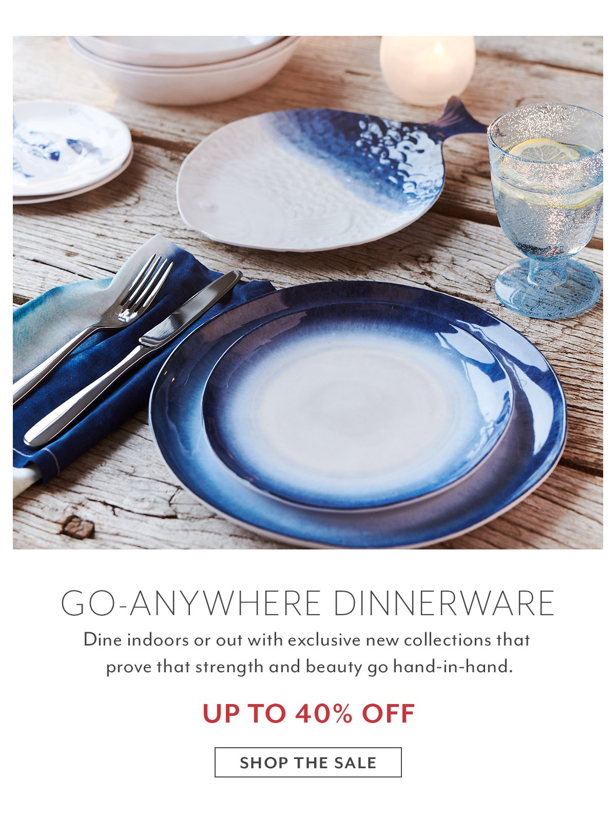 Go-Anywhere Dinnerware