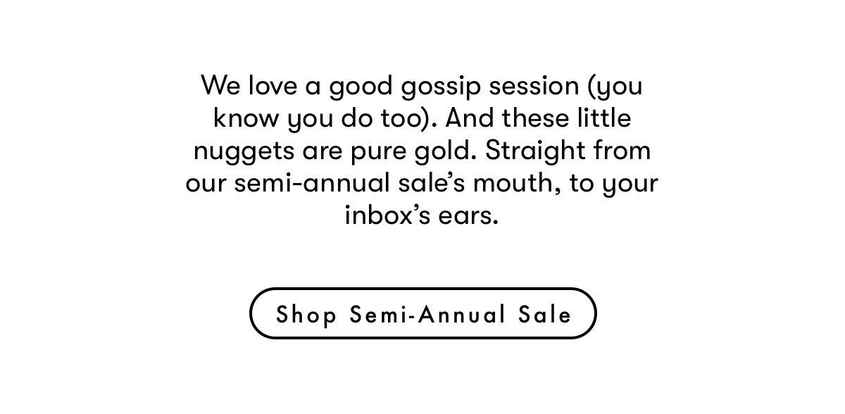 Shop semi-annual sale