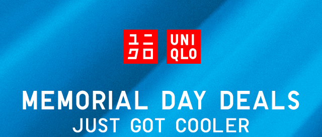 HEADER - MEMOREAL DAY DEALS JUST GOT COOLER
