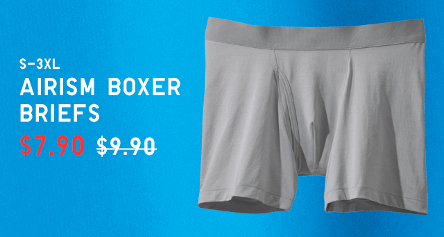 BODY5 - MEN AIRISM BOXER BRIEFS