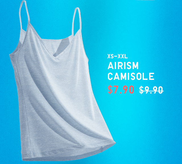 BODY2 - WOMEN AIRISM CAMISOLE