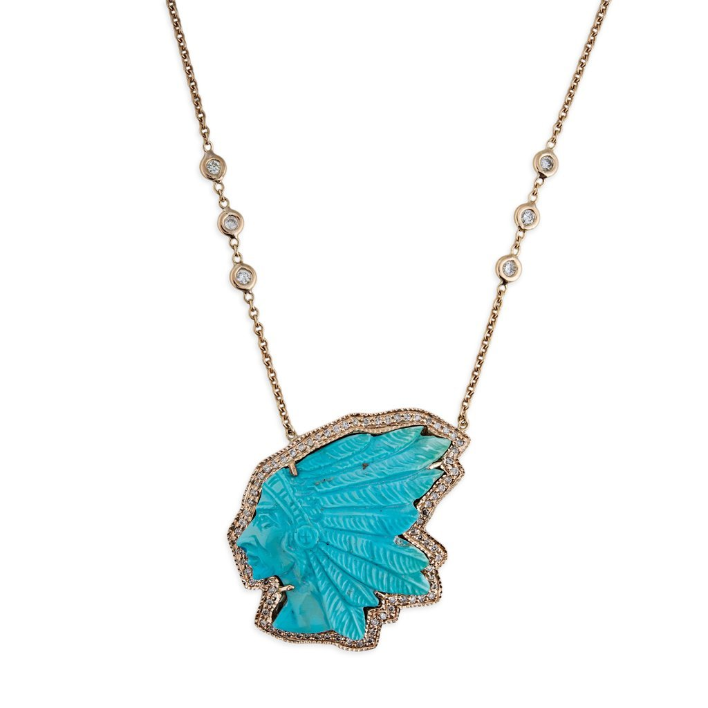 Image of TURQUOISE CHIEF NECKLACE