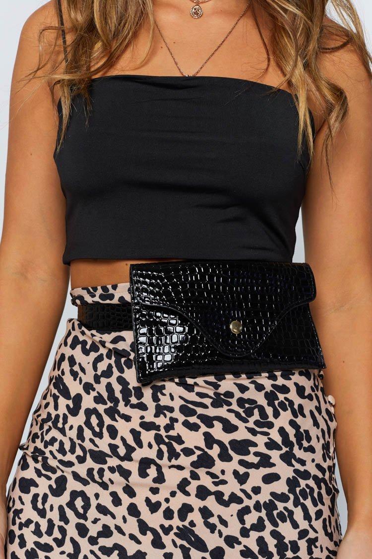 Eclat Terri Belt Bag Black