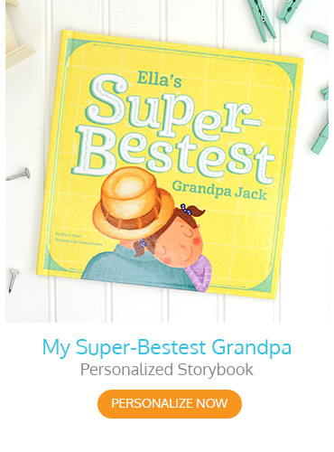 My Super-Bestest Grandpa Personalized Storybook