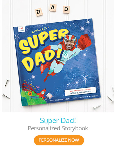 Super Dad! Personalized Storybook