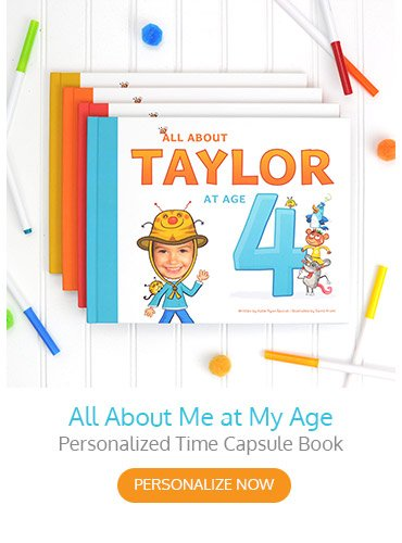 All About Me At My Age Personalized Storybook