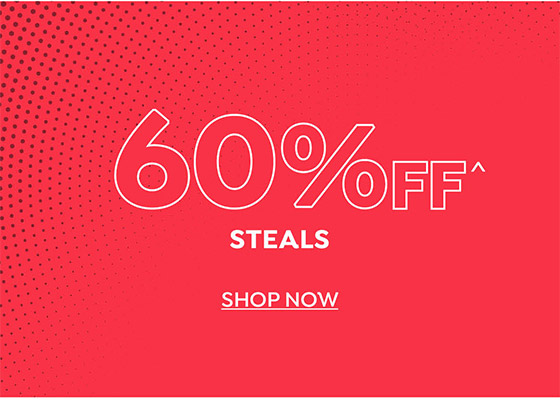 60% off Steals
