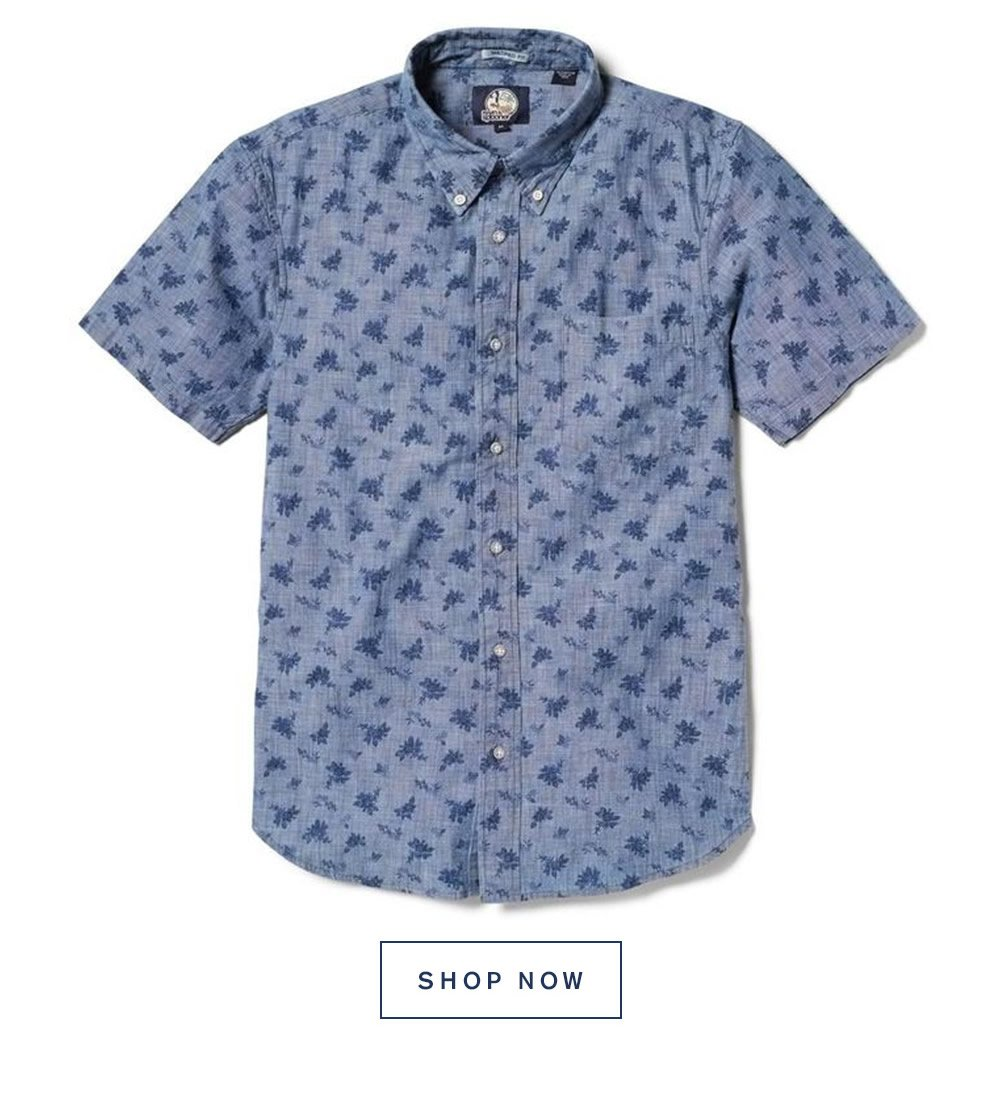 Floral Chambray - Tailored Fit. Shop Now