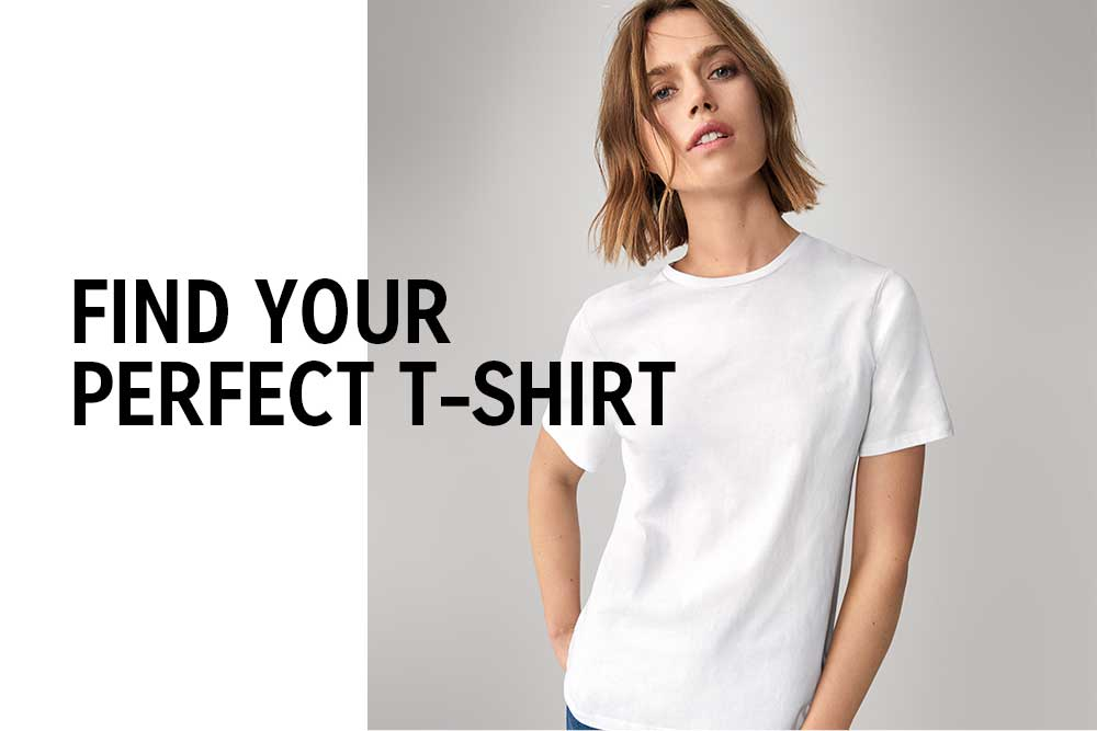 FIND YOUR PERFECT T-SHIRT