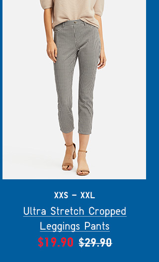 BODY6 - WOMEN ULTRA STRETCH CROPPED LEGGINGS PANTS