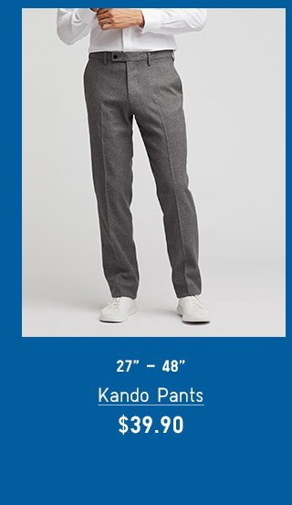 BODY11 - MEN KANDO PANTS