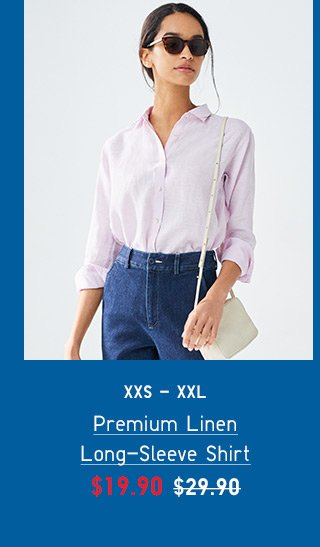 BODY2 - WOMEN PREMIUM LINEN SHIRT