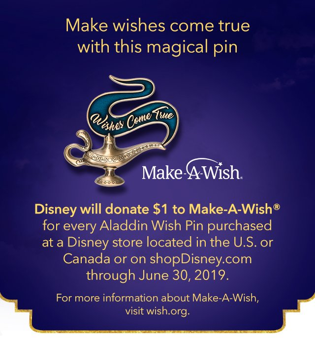 Make wishes come true with this magical pin | Shop Now