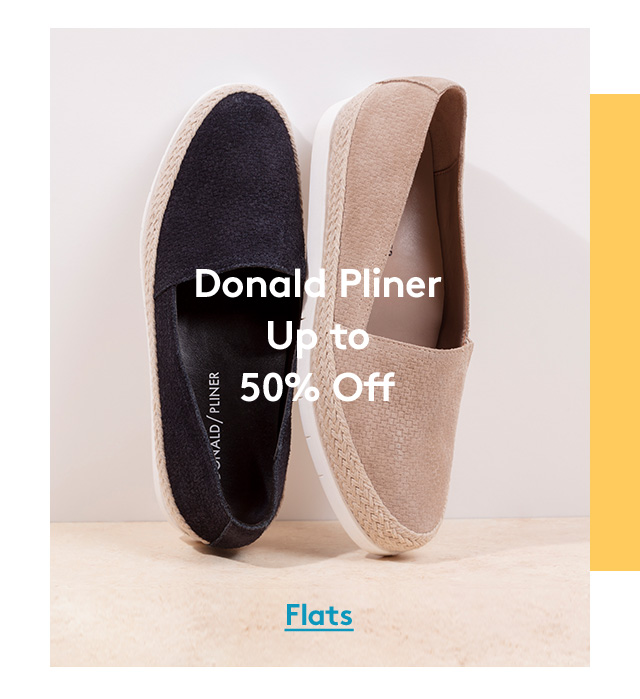Donald Pliner | Up to 50% Off | Flats