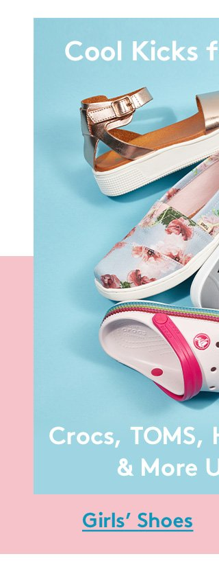 Cool Kicks for Cool Kids | Crocs, TOMS, Harper Canyon & More Under $25 | Girls' Shoes