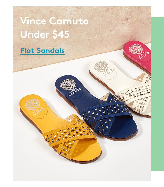 Vince Camuto | Under $45 | Flat Sandals