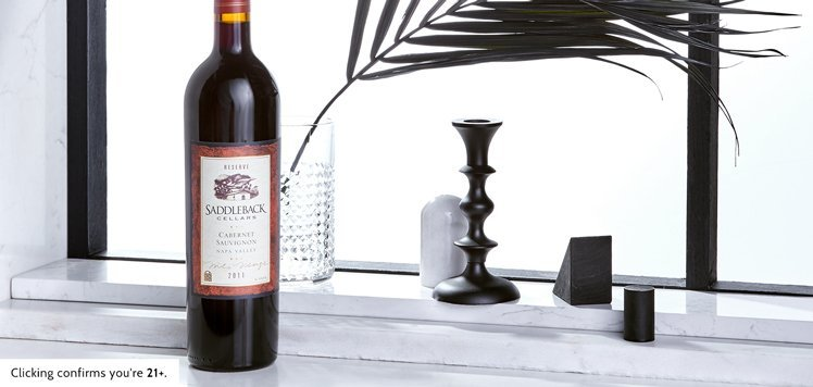 Reserve Napa Cabernet From Saddleback Cellars