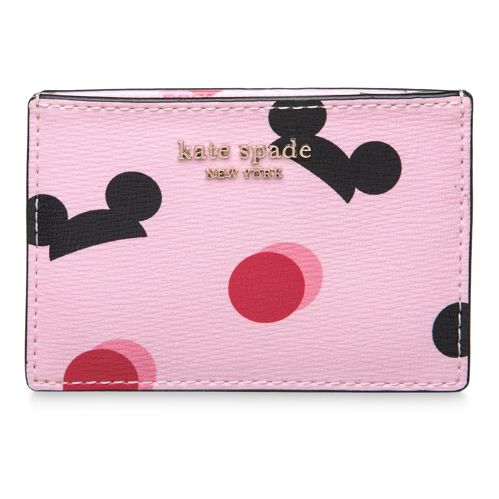 Mickey Mouse Ear Hat Credit Card Case by kate spade new york - Pink